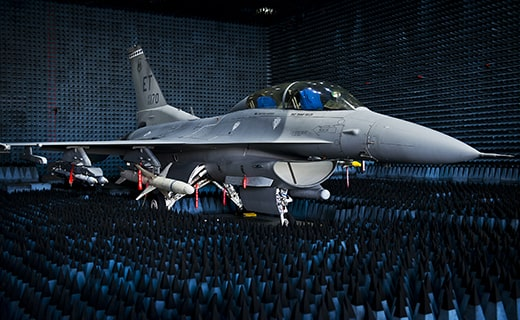 Fighter Jet Anechoic Chamber