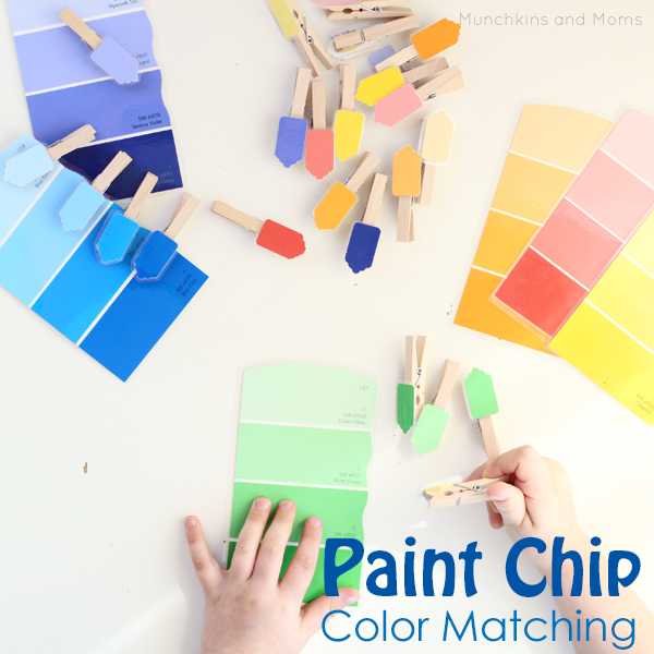 paint chip color matching