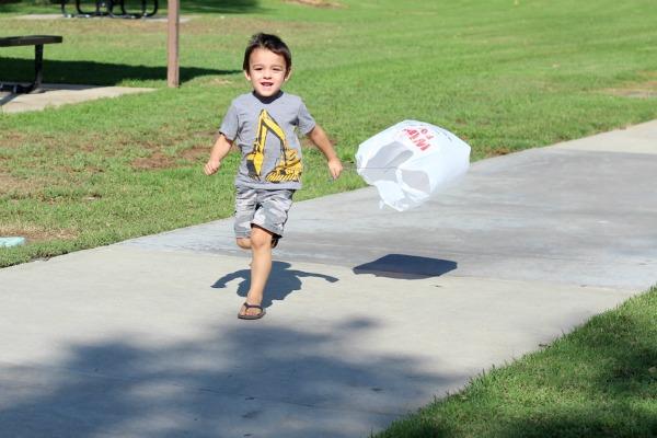 plastic bag kite 3