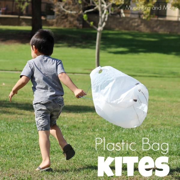 plastic bag kites