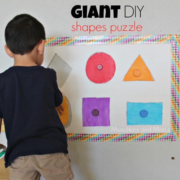 Giant DIY Shapes puzzle