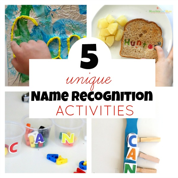 5 unique name recognition activities