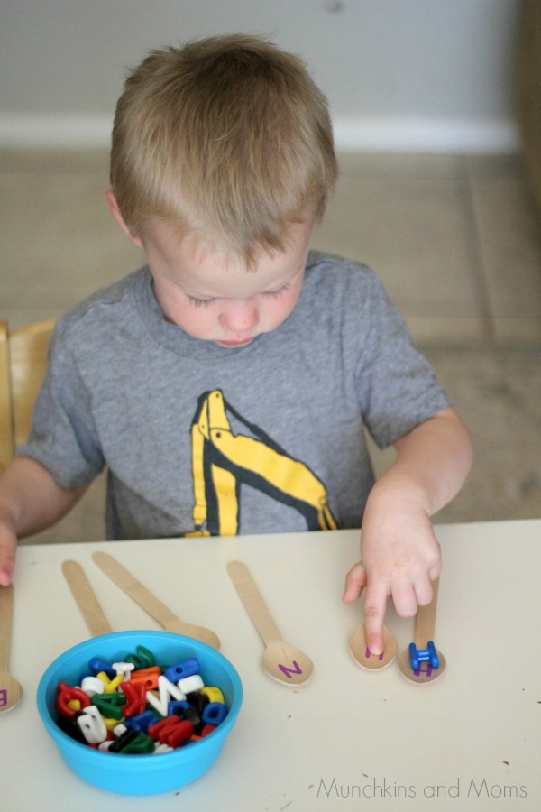 name recognition activity for preschoolers