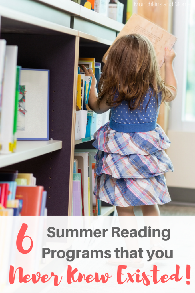 Free Summer Reading Programs for kids in 2017