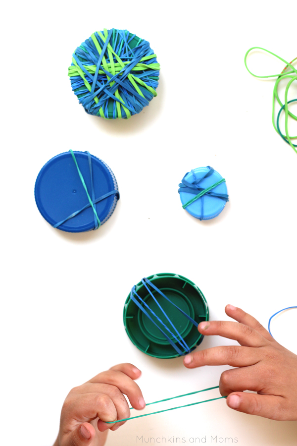 Excellent preschool fine motor activity for Earth Day!