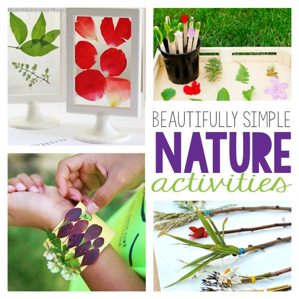 Beautifully Simple Nature Activitiesyuiu