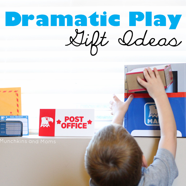 Give the gift of imagination with these Dramatic Play Gift Ideas!