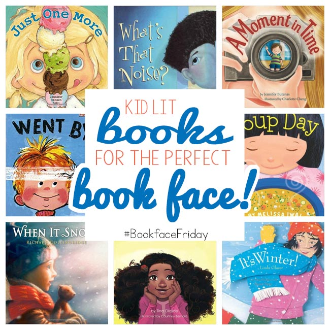 Are you ready to participate in #bookfacefriday? Start with some of these books!