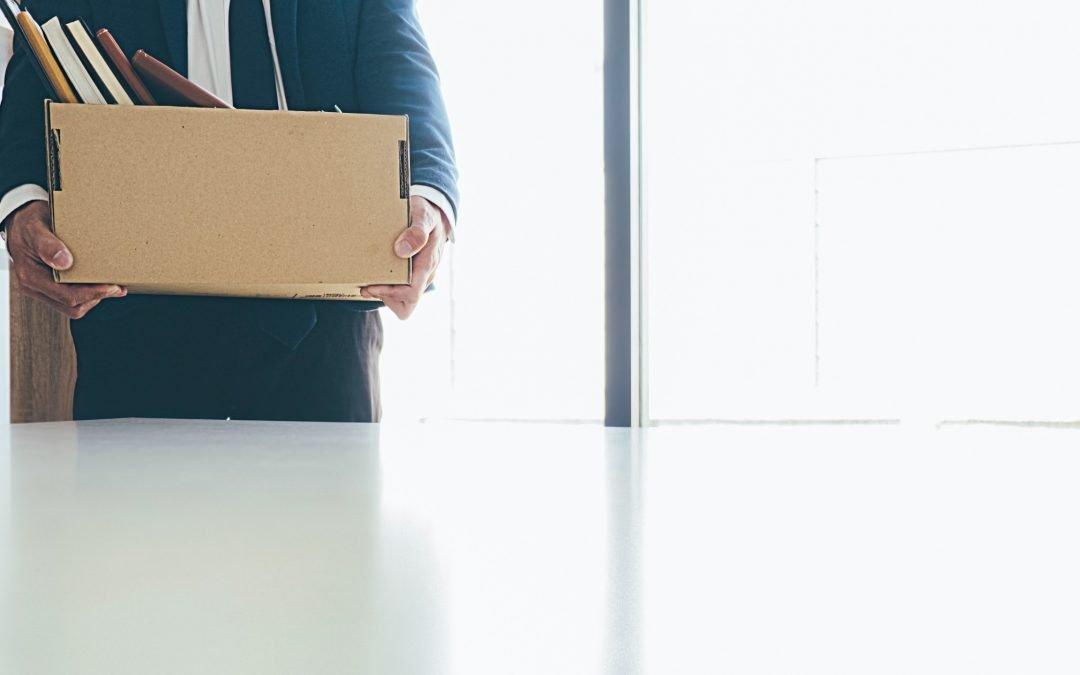 ¿Cómo afrontar la pérdida de trabajo?