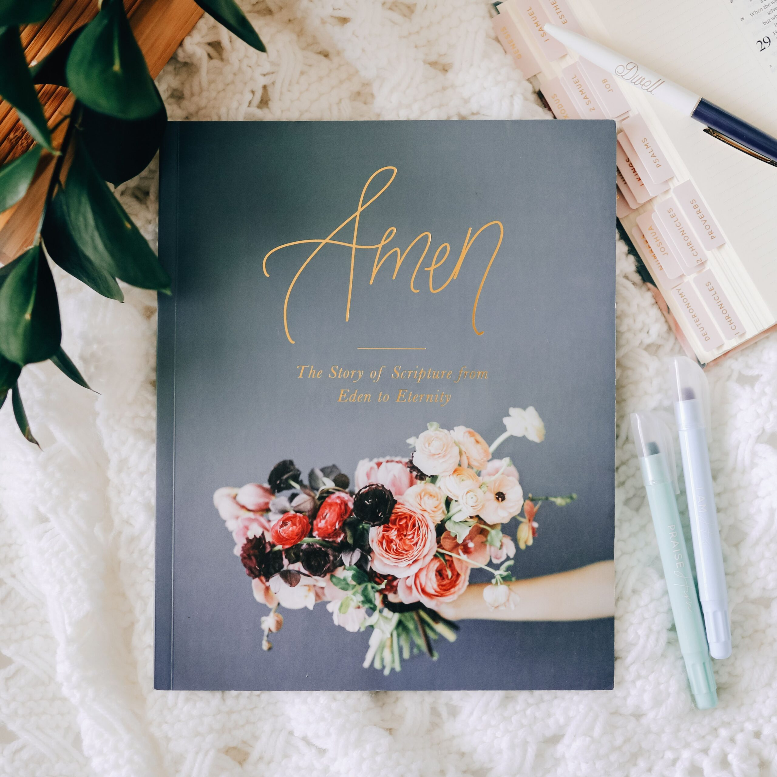 The Daily Grace Co. is passionate about equipping women to know and love God's Word. We pray that the Bible study tools found here will encourage you to run to the Lord and to His Word.