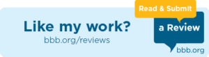 BBB email logo review