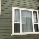 Simonton Three Lite Single Hung Window / Sherwin Williams Paint