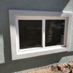 Simonton Slider Window / Parex USA Stucco
