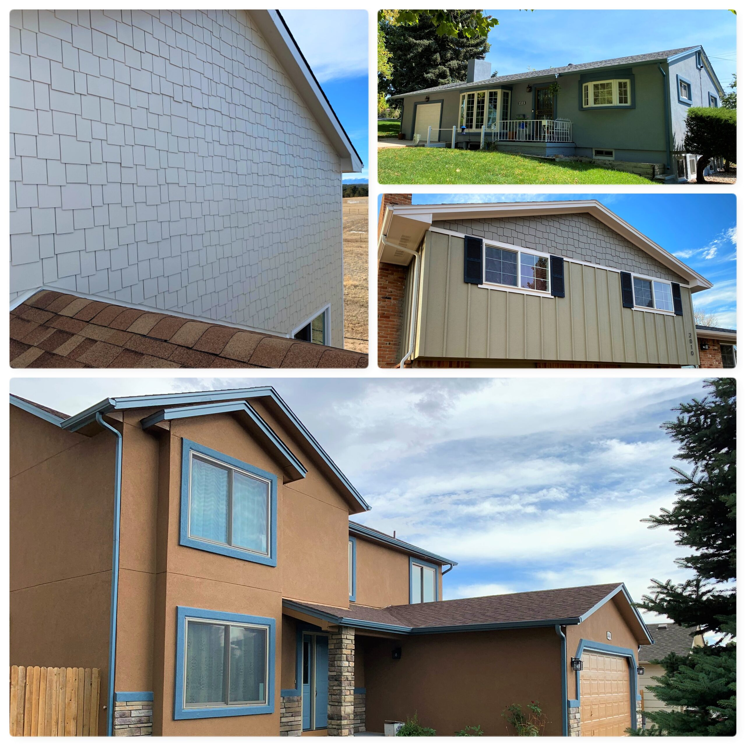 Siding & Stucco Projects