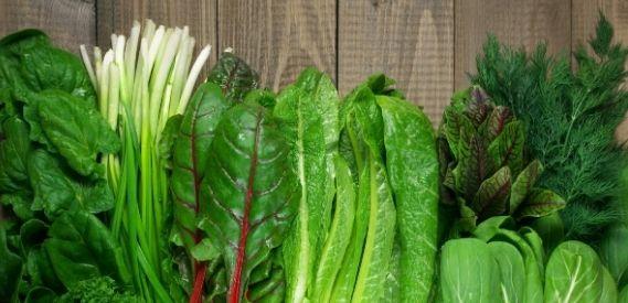 leafy green veggies