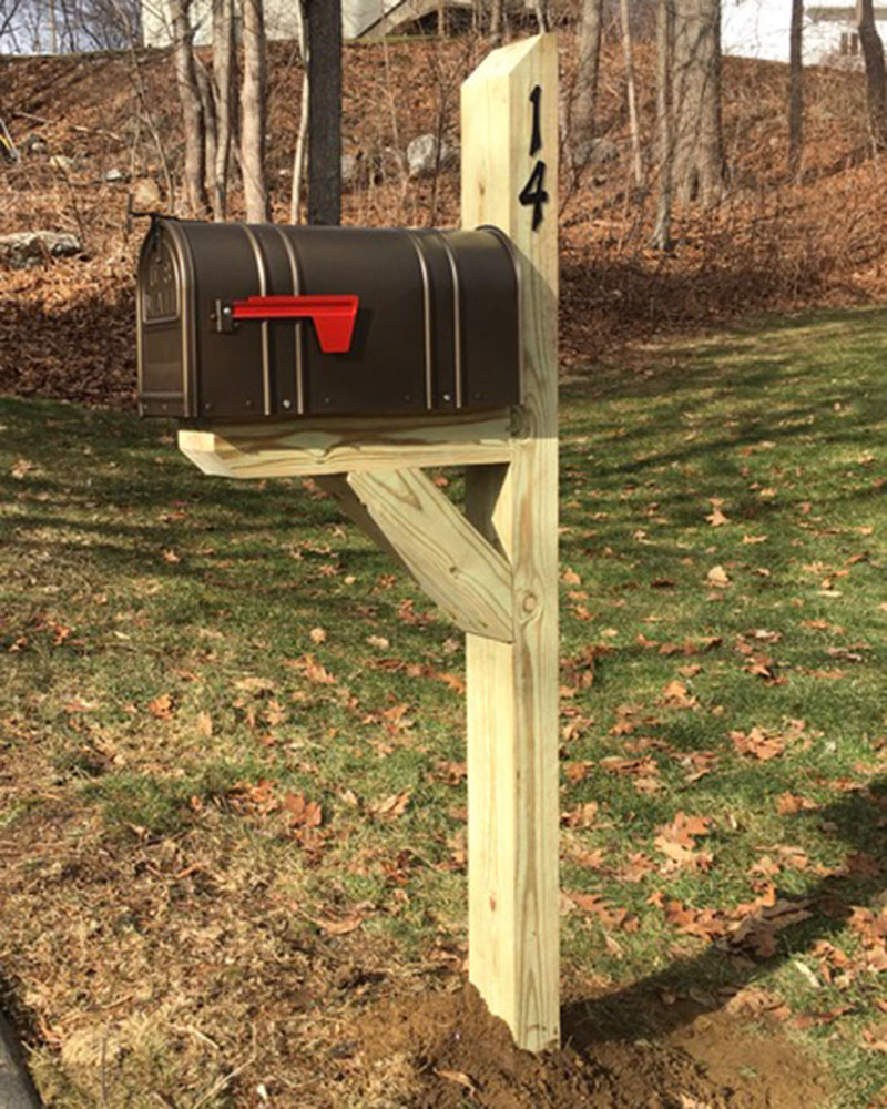 Antique Bronze Mailbox Replacement