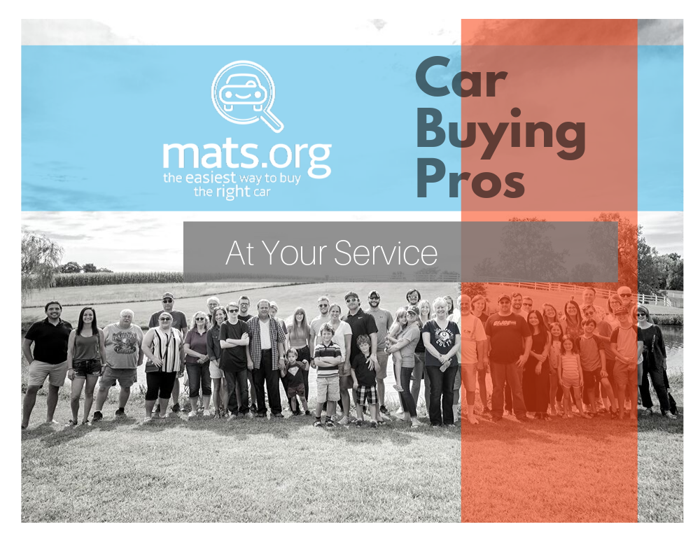 A team of car buying professionals. Personal car shoppers.