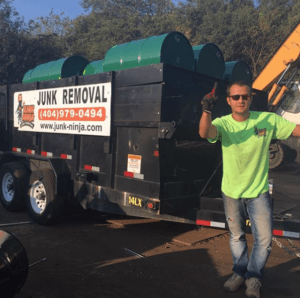 junk removal services in Actwork, Woostok, Marietta, Kennesaw & Roswell