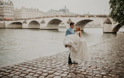 What could top a wedding in the city of love?