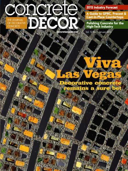 Concrete Decor Viva Las Vegas