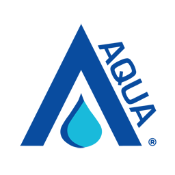 Aqua Logo Image serves as button to Product Information