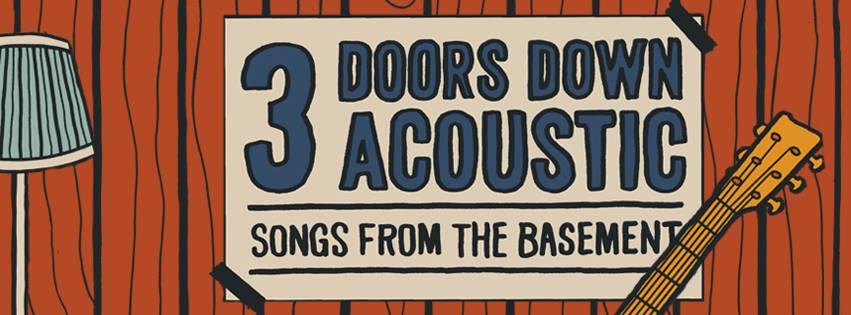 3 Doors Down acoustic banner