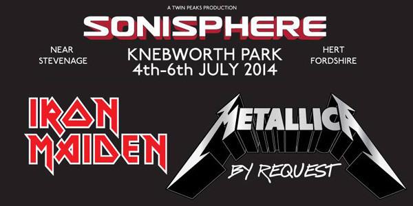 Metallica Sonisphere Germany 2014