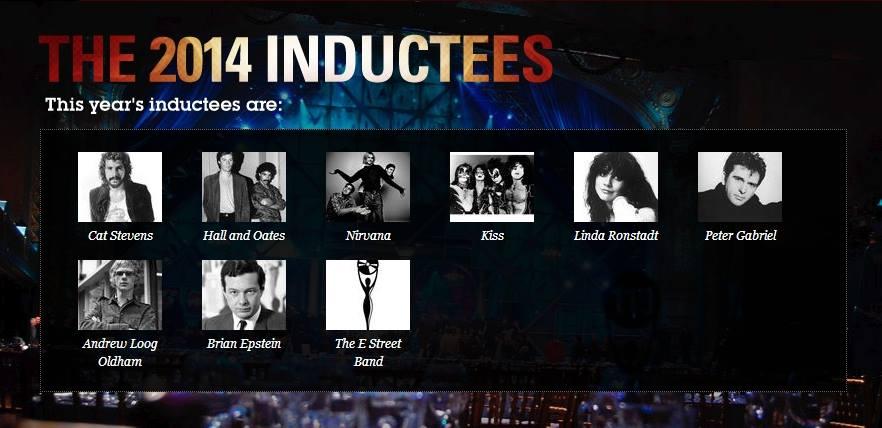 R&R Hall of Fame 2014