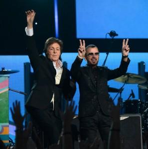 Grammys Paul and Ringo