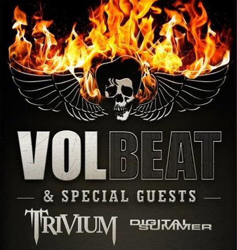 Volbeat Trivium tour