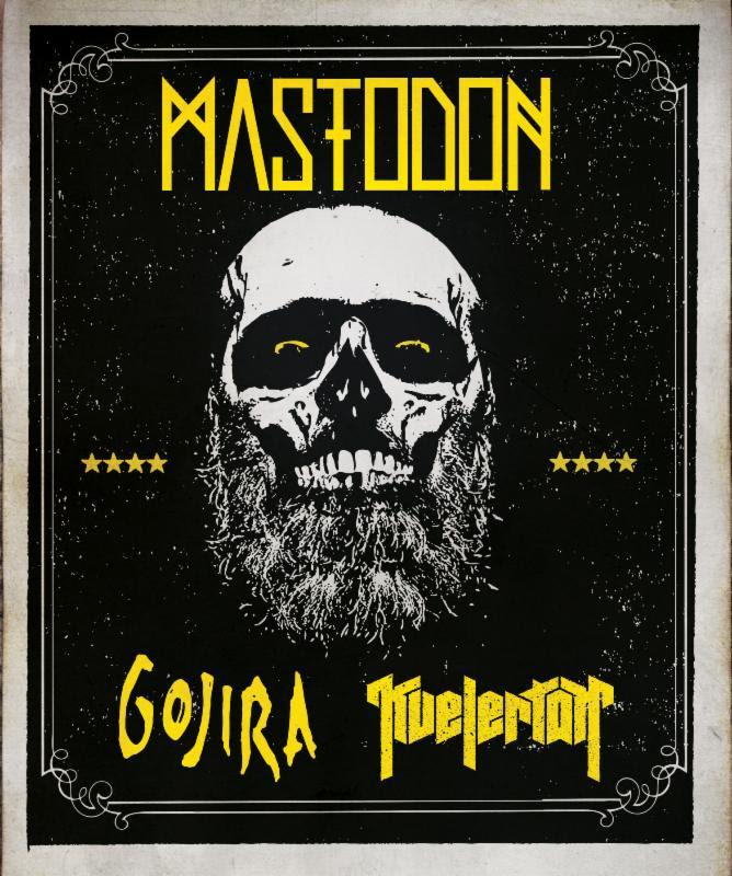 Mastodon spring tour 2014