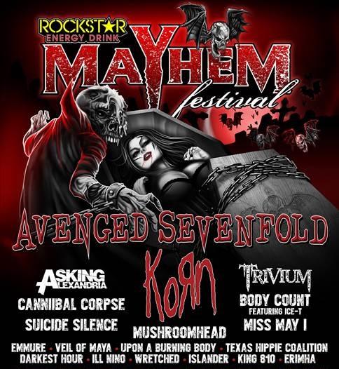 Mayhem Festival Official