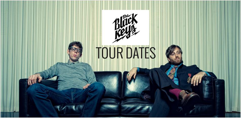 Black Keys Tour Banner