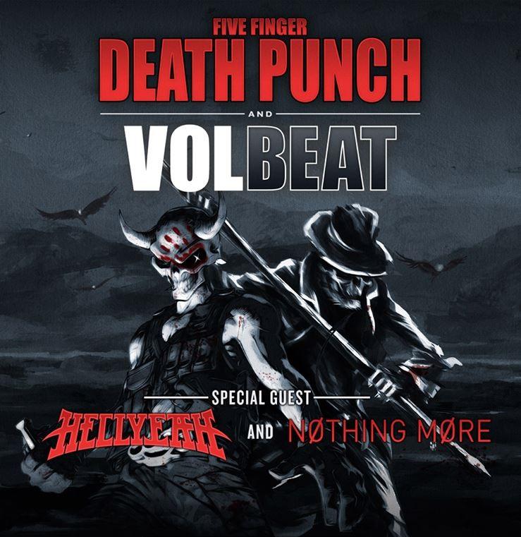 Volbeat FFD Tour