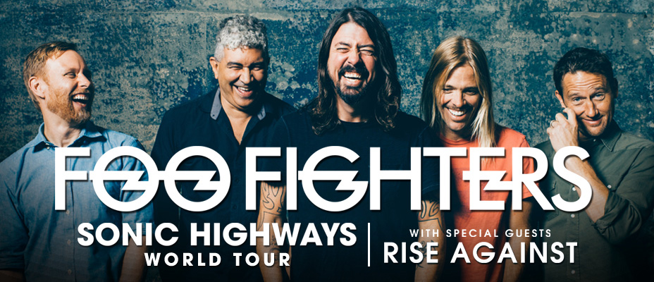 Foo Fighters Rise Against
