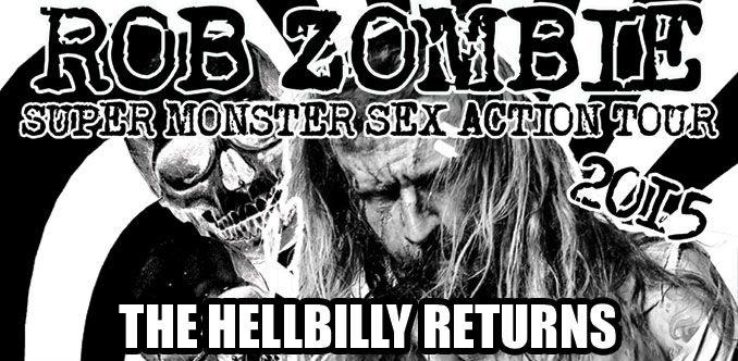 Rob Zombie 2015 Tour