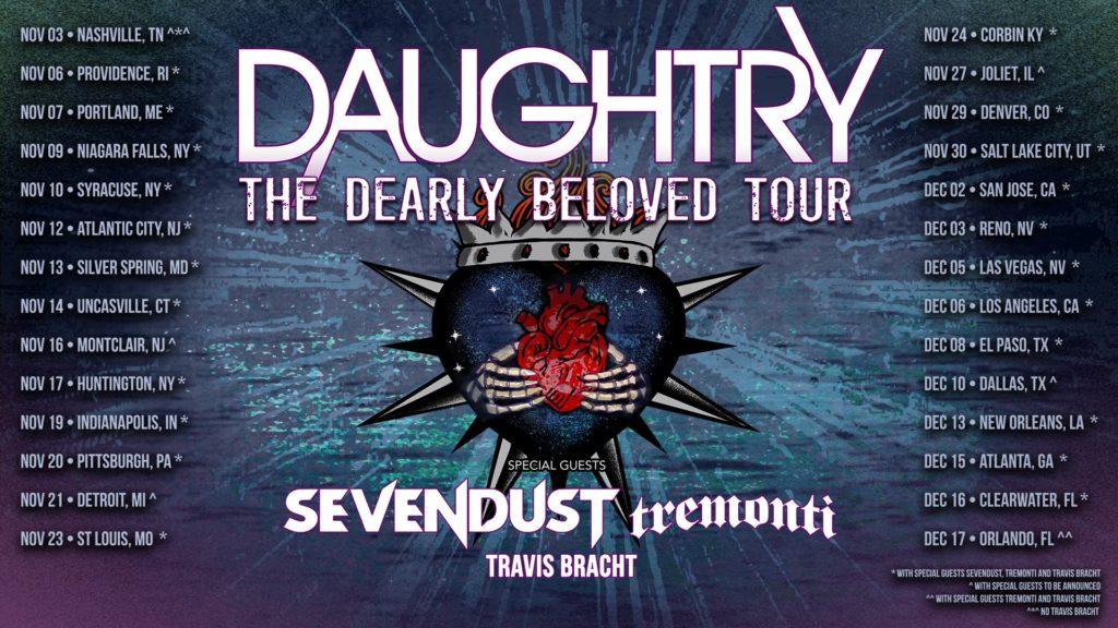 Daughtry Sevendust Tremonti Tour