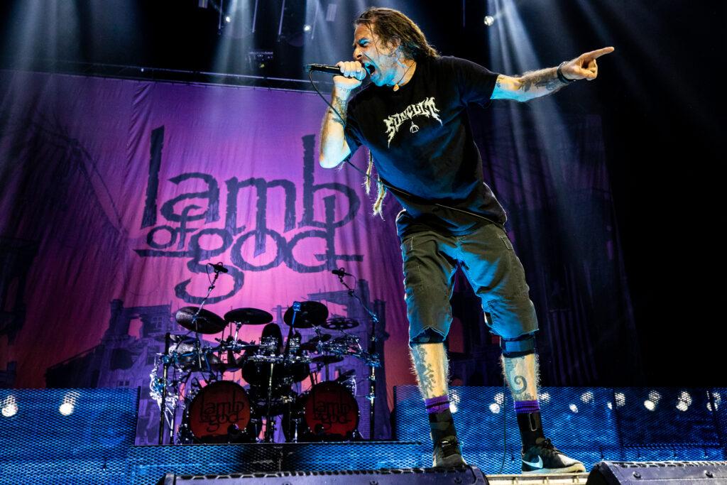 Lamb of God 2021 tour