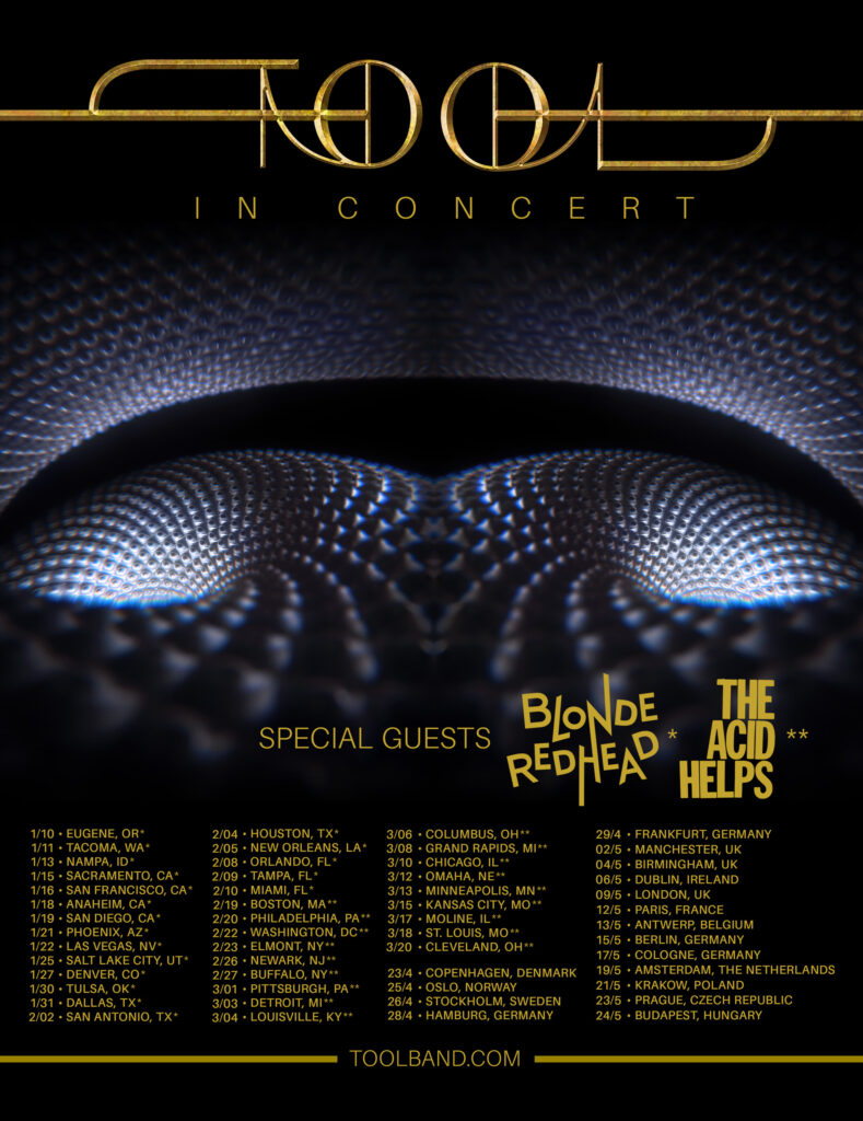 Tool 2021 tour