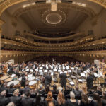 George Mathew conducts Music for Life, Mahler for Vision:  A Concert for the Restoration of Vision at Carnegie Hall, 2/13/17. Photo by Chris Lee