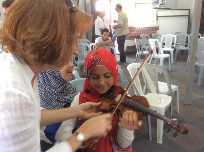 Music Residency Program in Za'atari, Jordan Refugee Camp - Questscope