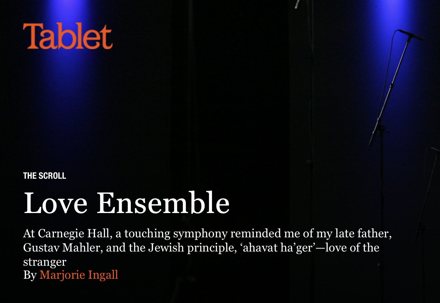 Love Ensemble - Tablet
