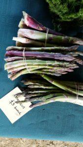 Mississippi Herbs asparagus at the Marlborough Farmers Market