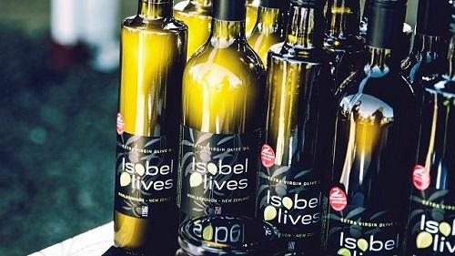 Isobel Olives Award winning olive oil