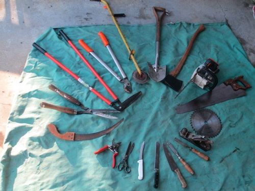 Tools sharpened by Ron of SharpAS