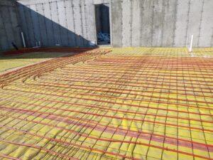 Radiant Floor Heating Installation