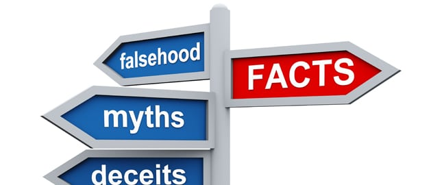 falsehood, myths, deceits, and FACTS