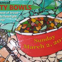 glass mosaic - 19th Annual Empty Bowls