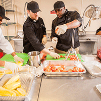 Community Kitchen Pittsburgh trainees