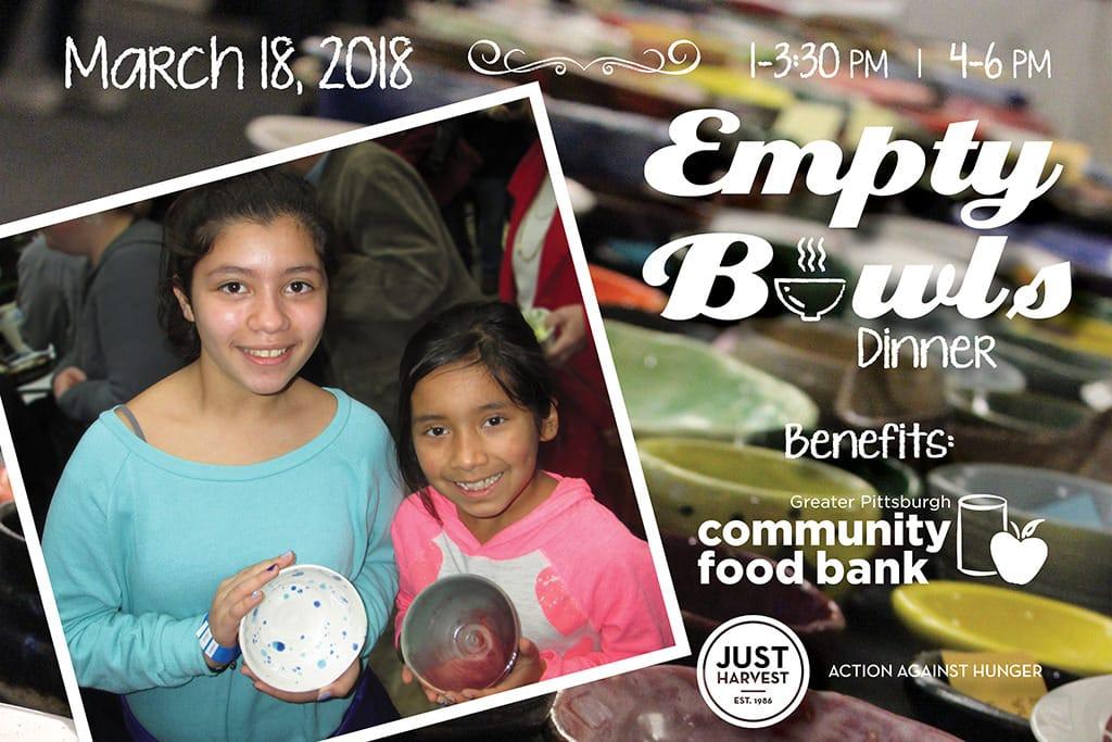 Empty Bowls, March 18, 2018